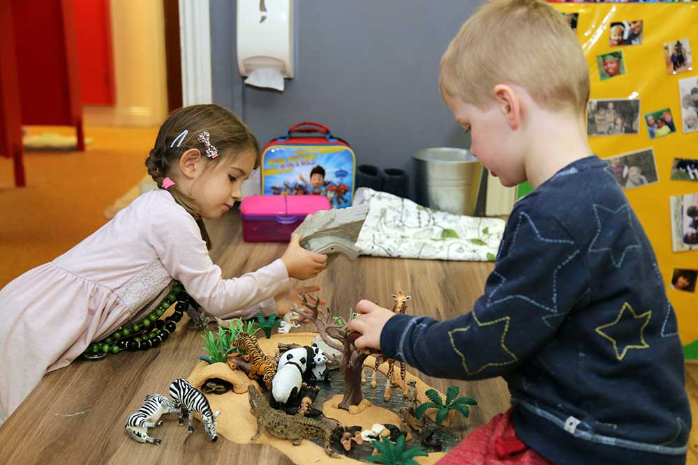 activities at Acorns Nursery
